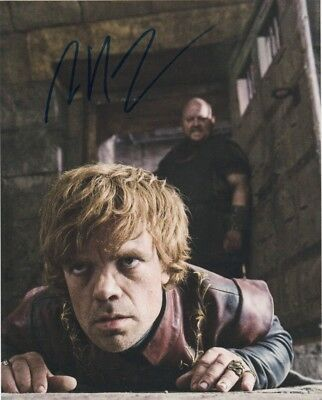 Peter Dinklage Game of Thrones signed autographed  8x10 photo J364