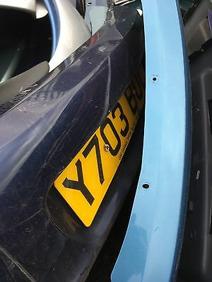 Ford Ka Rear Bumper Centre Section In Ford Ink Blue   Good Condition
