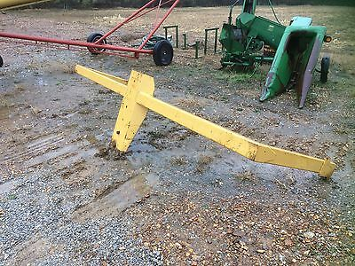 John Deere 1812c laser rack, dirt scoop, scraper, pan