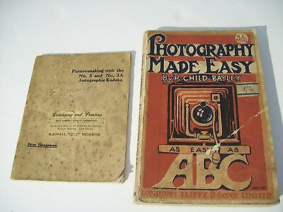 Photography Made Easy - As Easy As Abc By R Child Bayley 1920  Picture Making