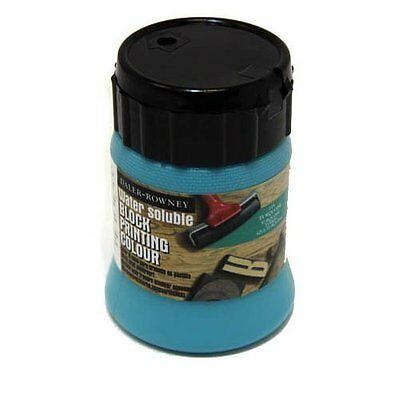 Water Soluble Block Printing Turquoise 250ml