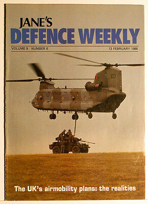 Jane's DEFENCE WEEKLY 1988