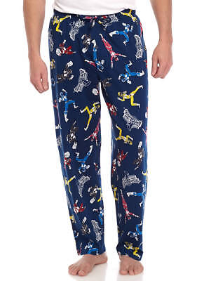 Power Rangers Mens Lounge Pajama Pants NWT