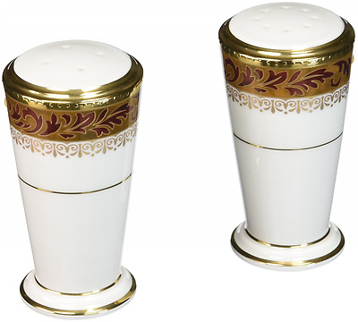 Noritake Xavier Gold Salt & Pepper Shakers