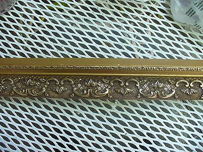 Antique Ornate Crown Molding ~ Guilted With Gold ~ 60 Feet Made In Belgium