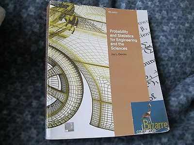 Probability Statistics For Engineering The Sciences By Devore