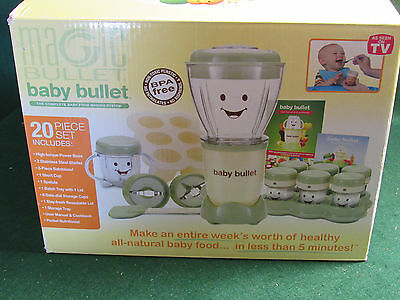 Baby Bullet Food System - New With Extras