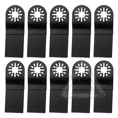 10 PCS Nail Oscillating Saw Blades Multi Tool For Fein Multimaster Bosch Dremel