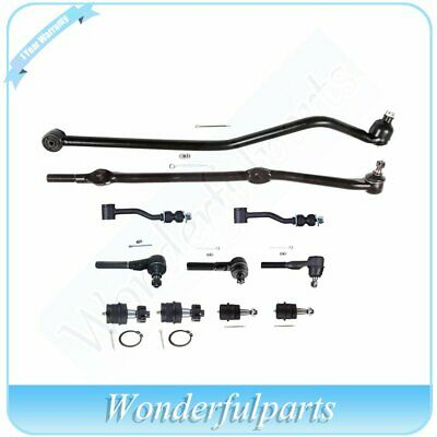 Auto Parts and Vehicles 6PCS steering Kit Front Ball Joint Tie Rod End for 1991-2001 Jeep Cherokee