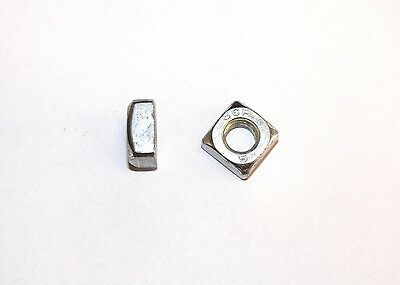 Square nuts M5, 6, 8, 10 galvanized , DIN 557-5 , Square Nut, nut