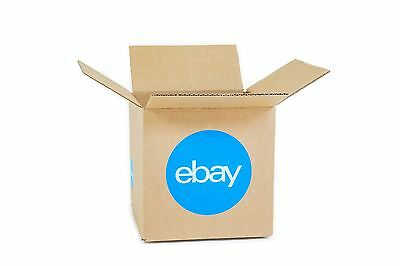 """New! eBay-Branded Boxes With Blue 2-Color Logo 8"""" x 8"""" x 8"""