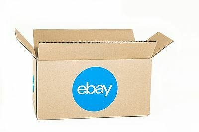 """New! eBay-Branded Boxes With Blue 2-Color Logo 12"""" x 6"""" x 6"""""""
