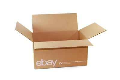 """Classic - eBay Branded Boxes 16"""" x 12"""" x 8"""" - Shipping Supplies"""