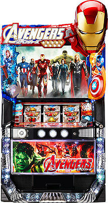 Avengers Skill Stop Pachislo Pachi Slot Machine Japan F/S USED