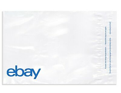 "eBay-Branded Polymailer With Blue Print 10"" x 12.5"" (No padding)"