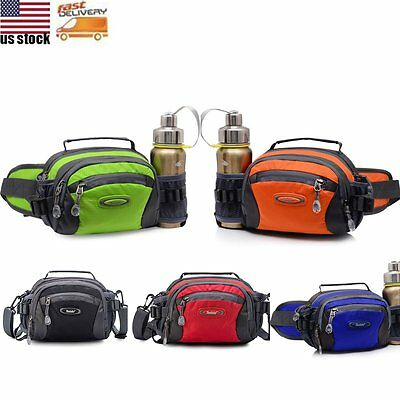 Waterproof Waist Bum Bag Travel Running Belt Fanny Pack Sport Shoulder Pouch Bag