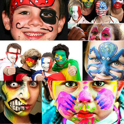 Costume Oil Painting Clown Face Paint Body Make Up Drama Stage Dress Up