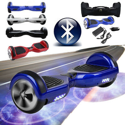 """6.5"""" Gyropode Hoverboard Overboard Skate Scooter électrique Bluetooth SQ"""