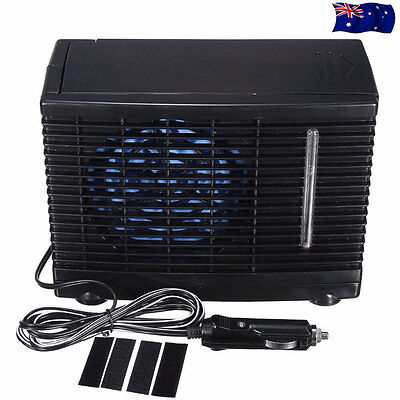 Air Conditioner Car Cooling Fan Water Ice 12V 3A Evaporative Mini Vehicle Cooler