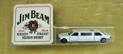 Unique Mercedes Benz Stretched Limo Bar Coaster Holder With Jim Beam Coasters