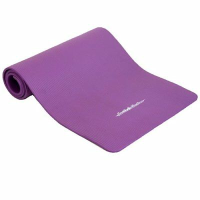 Fitness Mat Soft and Comfortable 10 mm Thick 180 cm Long Purple F/S w/Tracking#
