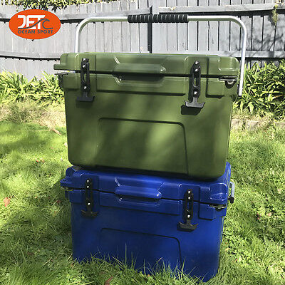 25L (26.5QT) Jetocean Ice Beer Cooler box for Food Storage Two Color heavy duty