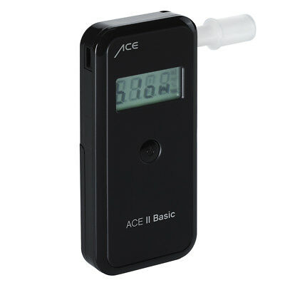 Alkoholtester ACE II Basic plus,  99% genau Promilletester Alkohol Polizei