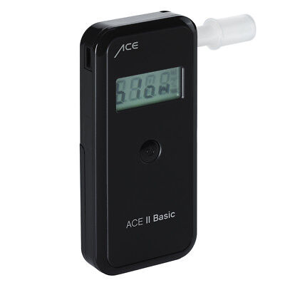 Alkoholtester ACE II Basic plus, TU-Wien-Messg. 99,0%* + 25 Mundstücke