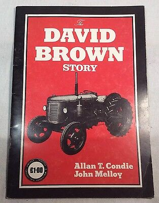 """Collectable """"The David Brown Story"""" By Allan T Condie, P/B Booklet 1985"""