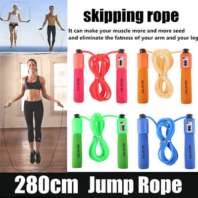Adjustable Anti-slip Jump Rope With Accurate Counter Safe Jump Rope for Kids DB