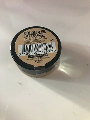 Maybelline Color Tattoo Eyeshadow 24h 05 Eternal Gold Neu