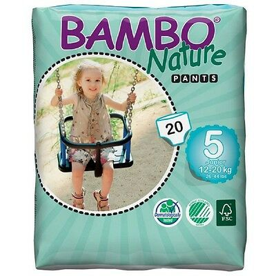 Bambo Nature Pants Junior - Größe 5 (12 - 20 kg) - 20 Pants