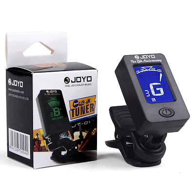 JOYO Clip-on LCD Digital Chromatic Electronic Guitar Bass Violin Ukulele Tuner