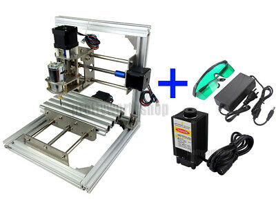 CNC LASER MINI Milling Engraving Machine 3 Axis Carving