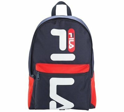 FILA Medium Backpack Early Mornings And Dark Nights This Backpack Features Blue