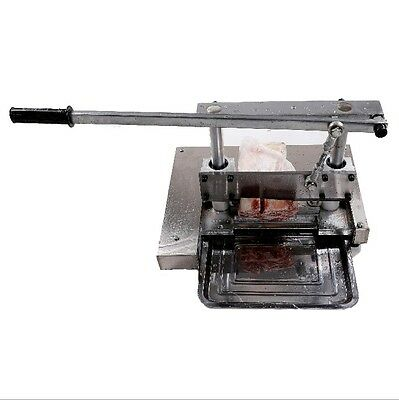 Manual Kitchen Home Bones Meat Saw  Chopper Slicer Cut Cutter Shredding Machine