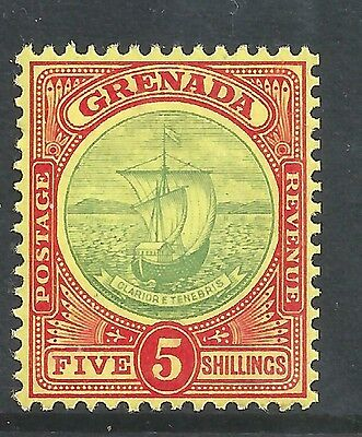 GRENADA 1908-11 5/- green and red - 99758