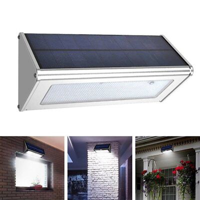 48 LED Solar Powered Light Outdoor Waterproof Fence Garden Security Wall Lights