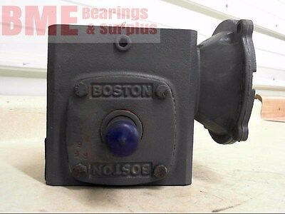 Boston Left Angle Gearbox F721-20S-B5-G Input Hp .250 O/P Torque 754 Ratio 20:1