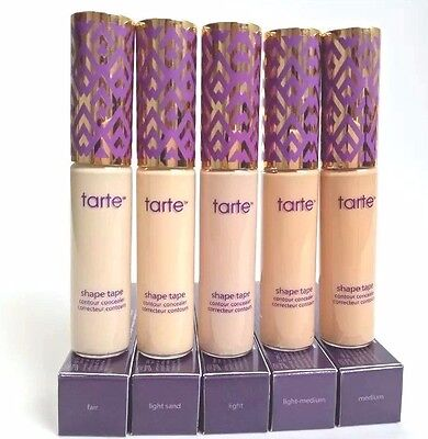 Tarte Shape Tape Contour Concealer Makeup Dark Circle Cover**LIGHT SAND **MEDIUM