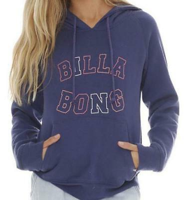 **NEW**BILLABONG **Navy hooded jumper - sz 10, 12 girls