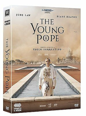 The Young Pope (4 Dvd) Di Paolo Sorrentino - Cofanetto Italiano, Nuovo,Originale