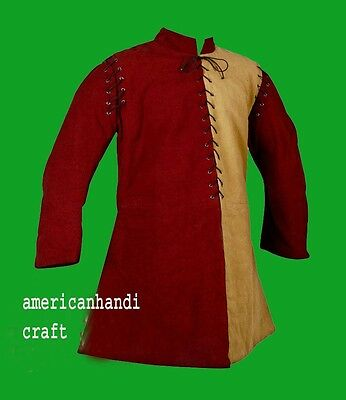 Medieval Thick Padded Gambeson costumes suit of armour for theater sca larp