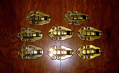"""((# 189a )) (( 8 VINTAGE LATCHES OR CATCHES 21/4"""" BY 11/2"""" )))"""
