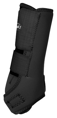 Tough 1 Economy Vented Front Sport Boots, Black, Medium