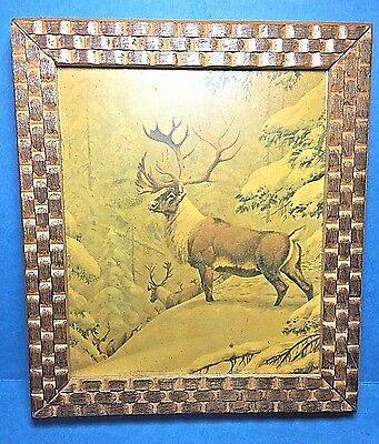Vintage Elk Wall Plaque