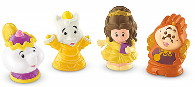 Fisher-Price Little People Disney Princess Belle and Friends