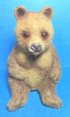 Vintage Fuzzy Small Bear Bank