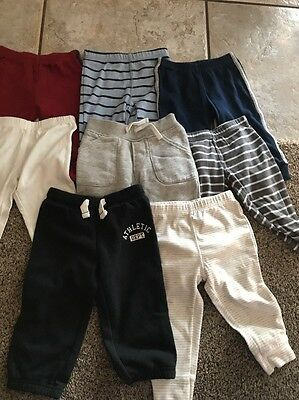 Lot Of 8 Carters Baby Pants Bottoms