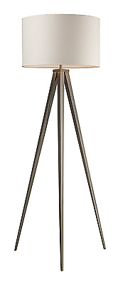 Dimond D2121 20-Inch Width by 61-Inch Height Salford Floor Lamp in Satin Nickel